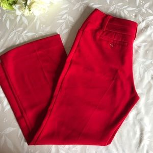 The Limited Lexie Fit Red Pants